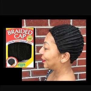 Braided cap